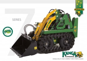 7 Series brochure kanga loaders - mini digger dingo