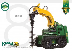 8 Series Kanga Loader brochure mini digger dingo