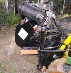 terminator stump grinder kanga digga mini loader attachments