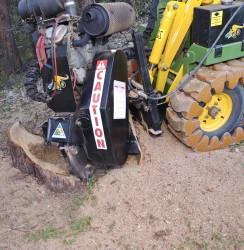 terminator stump grinder kanga digga attachments
