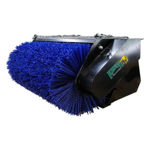Open Face Bucket Broom for 2 Series Kanga Loader