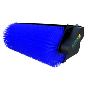 Open Face Bucket Broom for 6, 7, and 8 Series Kanga Loader
