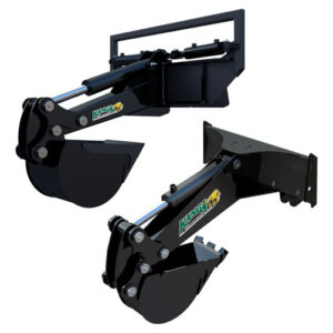 Front Hoe for 6, 7, and 8 Series Kanga Loader