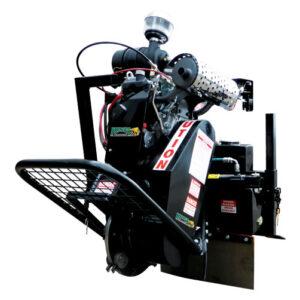 Terminator stump grinder for 6, 7, and 8 Series Kanga Loader