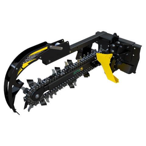 KTR Trencher for 8 Series Kanga Loader