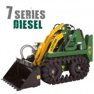 7 series diesel mini digger dingo