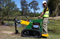 Kanga 2 Series Kanga Kid with Auger mini digger augers