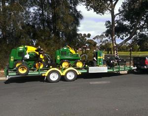 Kanga Loaders towing capacity