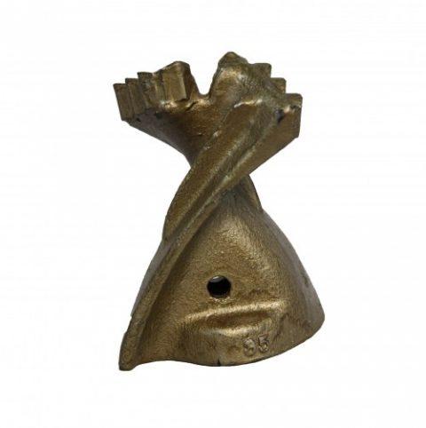 Auger teeth mini loader