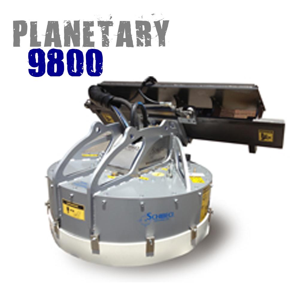 schibeci planetary concrete grinder