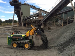kanga remote controlled loader mining
