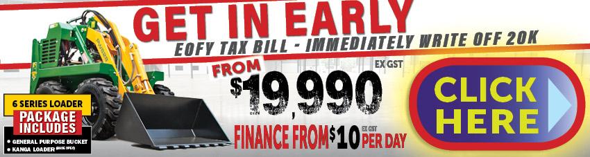 Tax EOFY Savings Kanga Mini Loaders