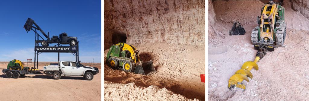 Opal Mining with a Kanga Mini Loader