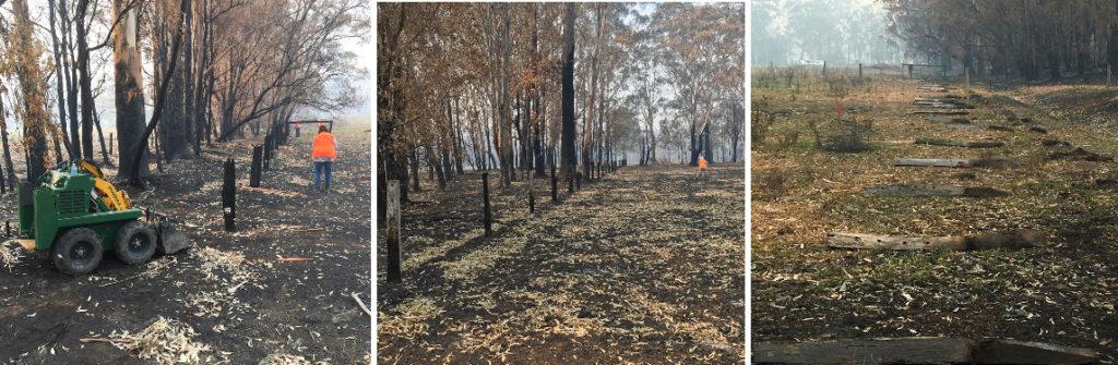Kanga Loader helping in NSW bushfires