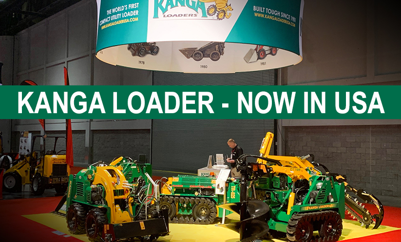 Kanga Loaders USA at the ARA Show 2020 booth