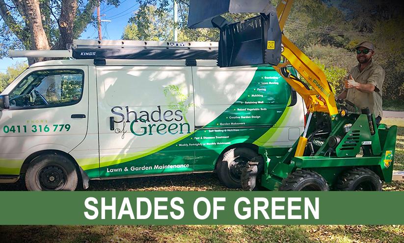 Shades of Green Lawn & Garden Maintenance