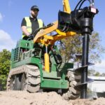 how to operate a kanga mini loader